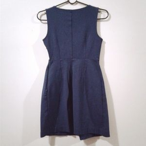 Theory Dresses - Theory Blue Sleeveless Crew Neck Dress Size 2
